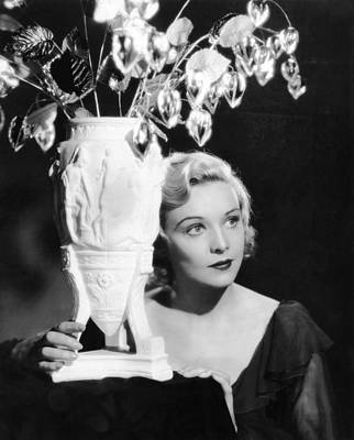 Secret Agent, Madeleine Carroll, 1936 Poster