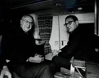 Secretary Of State Henry Kissinger Poster by Everett
