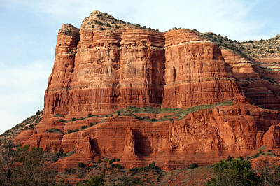 Sedona Red Poster by Debbie Hart