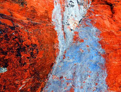 Sedona Red Rock Zen 70 Poster