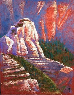 Poster featuring the photograph Sedona Rock by Drusilla Montemayor