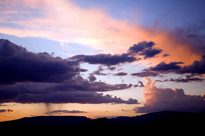 Sedona Summer Storms Poster