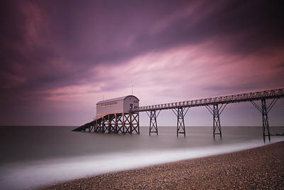 Selsey Lifeboat Station Poster by Nina Papiorek
