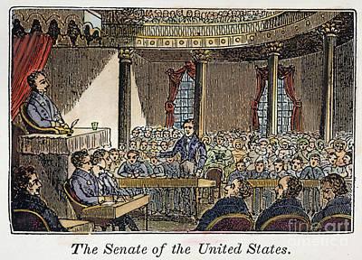 Senate Of United States Poster by Granger