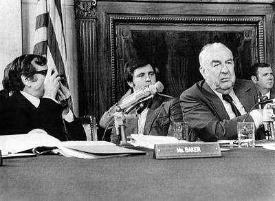 Senate Watergate Committee. Vice Poster by Everett