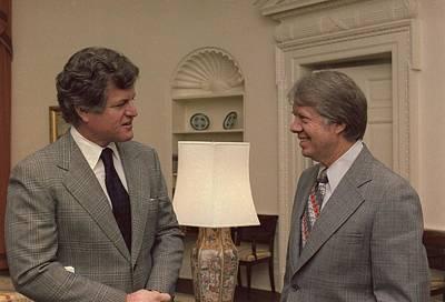 Senator Edward Kennedy 1932-2009 Meets Poster by Everett