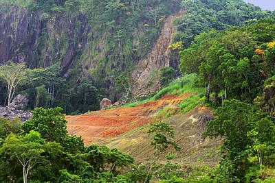 Senic Landscape Culebra Cut Poster