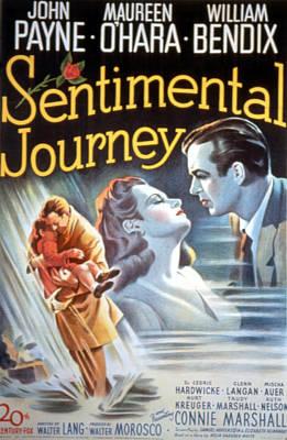 Sentimental Journey, Maureen Ohara Poster