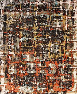 Senza Fine - Never Ending Poster by James Mancini Heath