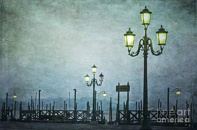 Servizio Gondole Poster by Marion Galt