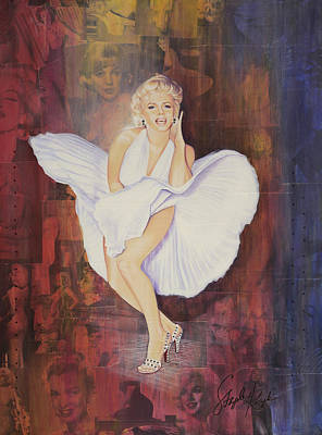Seven Year Itch Poster by Stapler-Kozek