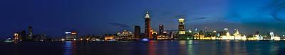 Shanghai Bund Panorama - Night Poster