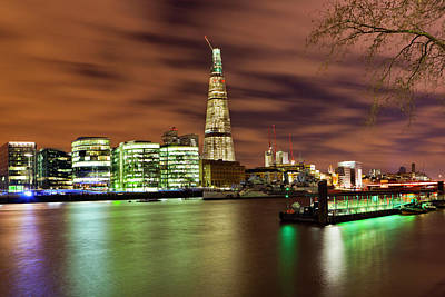 Shard London Bridge Poster