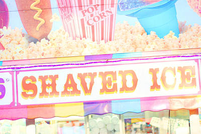 Shaved Ice Poster by Amy Tyler