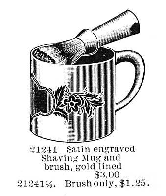 Shaving Brush & Mug, 1895 Poster by Granger