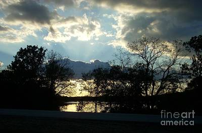 Shawnee Mission Park Sunset  Poster
