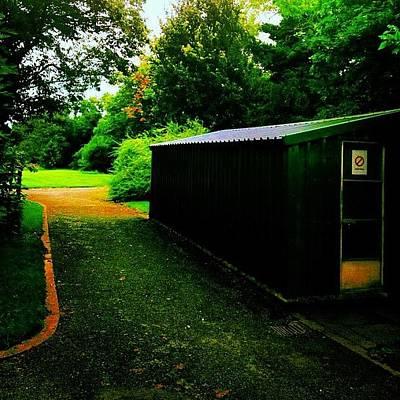 Shed.  #shed #garden #park #dublin Poster