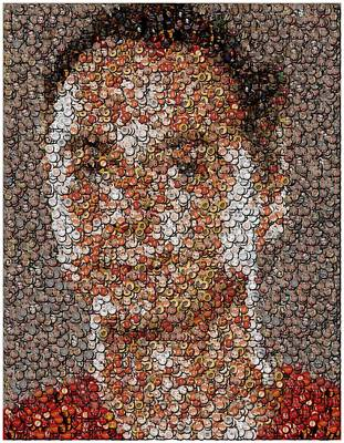Sheldon Cooper Mosaic Poster