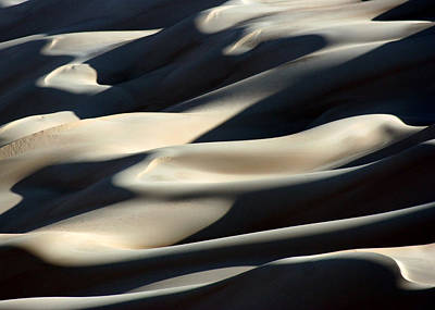 Shifting Sands Of The Libyan Sahara Poster by Joe & Clair Carnegie / Libyan Soup