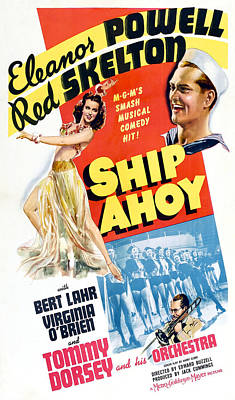 Ship Ahoy, Clockwise From Left, Eleanor Poster by Everett
