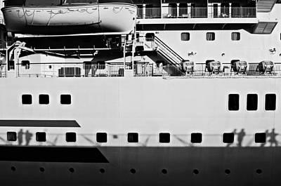 Ship Watching Poster