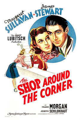 Shop Around The Corner, From Left Poster by Everett