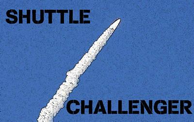 Shuttle Challenger  Poster