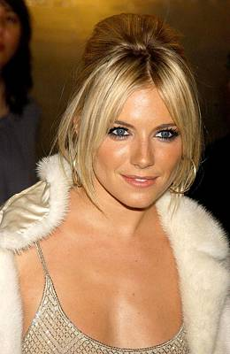 Sienna Miller In Attendance For Ck Poster by Everett