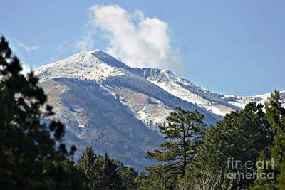 Sierra Blanca Clouds 3 Poster