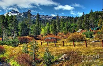 Sierra Nevada Fall Majesty Poster