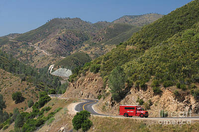Sierra Nevada Mountains Poster
