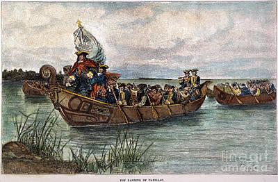Sieur De Cadillac (1658-1730) Poster
