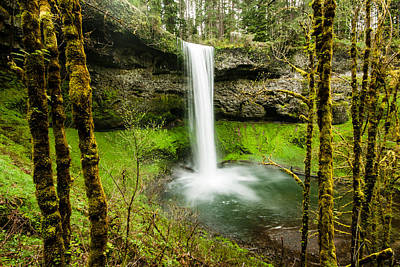 Silver Falls State Park One Poster