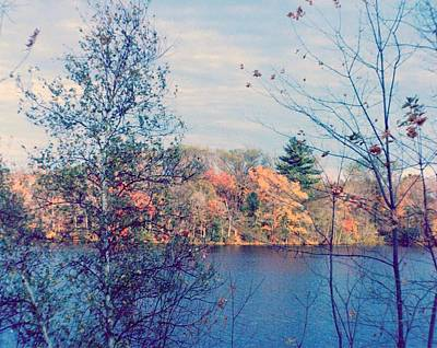 Silver Lake In Fall Poster