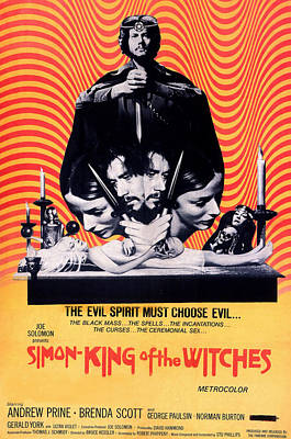Simon, King Of The Witches, Andrew Poster by Everett