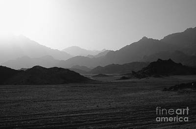 Sinai Desert And Mountains Poster by Heiko Koehrer-Wagner