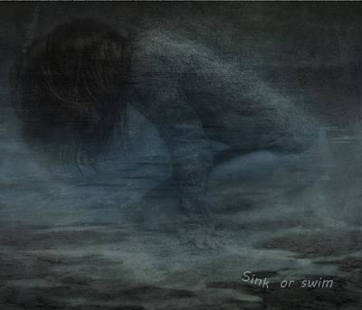 Sink Or Swim Poster by Hazel Billingsley