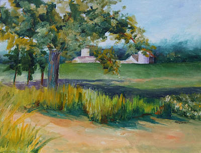 Sink's Farm Poster by Donna Pierce-Clark