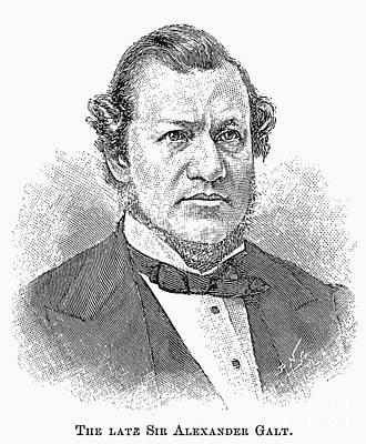 Sir Alexander Tilloch Galt Poster