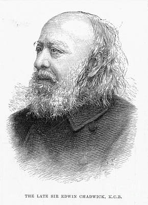 Sir Edwin Chadwick Poster by Granger