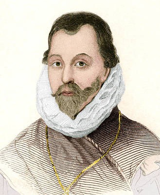 Sir Francis Drake, English Explorer Poster