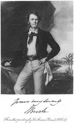 Sir James Brooke (1803-1868) Poster by Granger