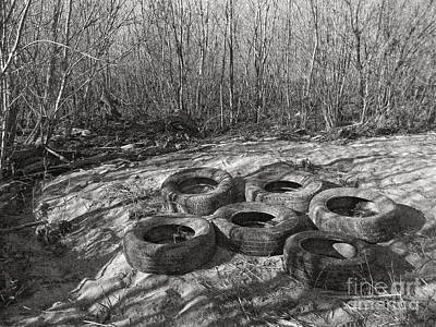 Six Tires Poster by Janeen Wassink Searles