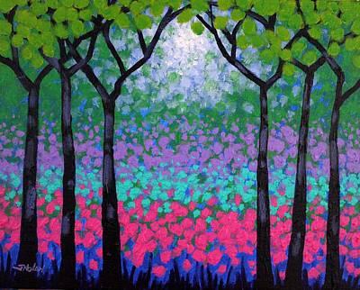 Six Trees Poster by John  Nolan