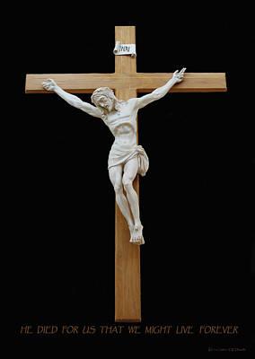 Sjncc Crucifix 1 Two K Eleven Poster by Carl Deaville