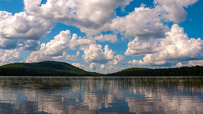 Sky At Fawn Lake Poster