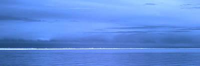 Poster featuring the photograph Skyline Salton Sea by Hugh Smith