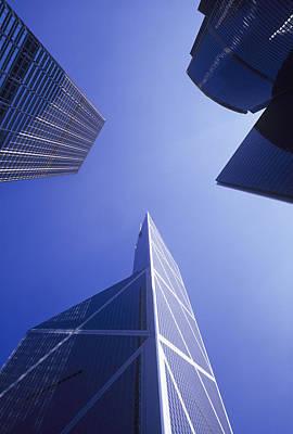 Skyscrapers Poster by Carlos Dominguez
