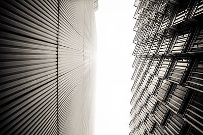 Slatted Window Architecture Poster by Lenny Carter