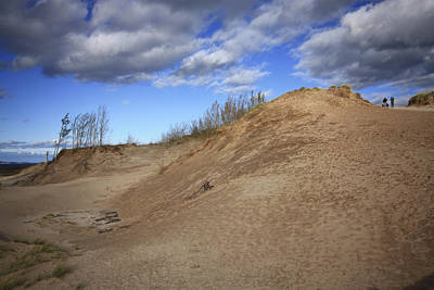 Poster featuring the photograph Sleeping Bear Dunes by Patrice Zinck